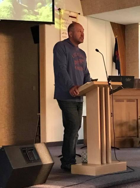 Jeff Preaching